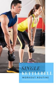 Single Kettlebell Workout Routines