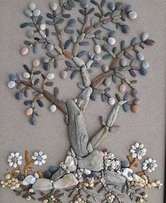Stone Crafts, Rock Crafts, Arts And Crafts, Jigsaw Puzzle, Plaster Art, Driftwood Projects, Star Painting, Sea Crafts, Rock And Pebbles