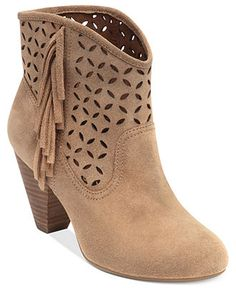 Jessica Simpson Boots, Orlina Perforated Booties - Boots - Shoes - Macy's