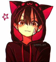 Anime Neko, Otaku Anime, Anime Cat Boy, Anime Kawaii, Anime Guys, Manga Anime, Anime Art, Manga Cat, Manga Girl