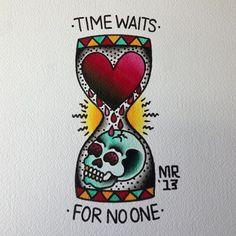EL TIEMPO EN LA PIEL. Repasamos la tradición de los tatuajes de relojes de arena , sus estilos y os damos ideas geniales.