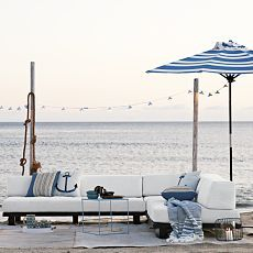 Tillary Outdoor Modular Seating - for my house by the beach.
