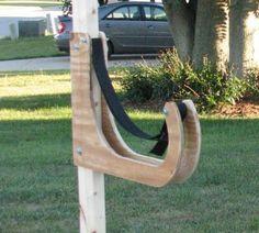 Kayak rack bracket