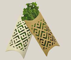 Vegetable packaging Organic Packaging, Fruit Packaging, Biodegradable Packaging, Flower Packaging, Food Packaging Design, Packaging Design Inspiration, Biodegradable Products, Vegetable Packaging, Paper Bag Design