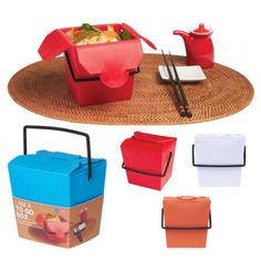 Nifty to-go box. $13.95