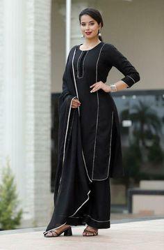 Pakistani Dress Design, Pakistani Dresses, Stylish Dresses, Fashion Dresses, Embroidery Designs, Sleeves Designs For Dresses, Indian Prints, Printed Kurti, Ethnic Dress