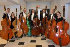 Oklahoma City Philharmonic Bass Section with Sarah Chang