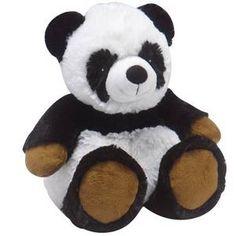 peluche bouillotte micro-ondable, panda cozy