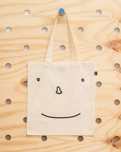 Lazy Oaf Sad Happy Face Totebag