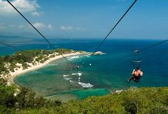 Dragons Breath Zipline in Labadee, Haiti. i was there a year ago but never did it. so wish i did!