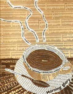 ☕ Coffee ♥ Craft ☕ Toni Kami Coffee art collage