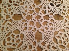 Vintage 1940's square doily by HannahsSpecialTeas on Etsy