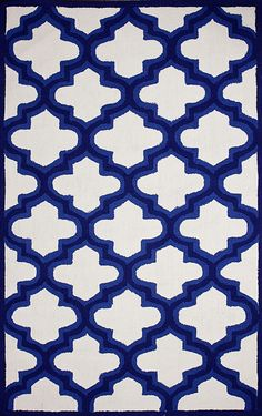 Novel Ightesty Blue Outdoor Area Rug