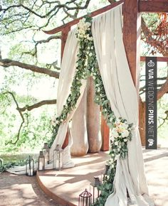 Amazing! - Garland wedding decor: The Nichols Photography / | CHECK OUT SOME SWEET TEMPLATES FOR TASTY WEDDING DECOR TRENDS 2016 OVER AT WEDDINGPINS.NET | #weddingdecor2016 #weddingdecor #decor #2016 #trends #weddings #weddingvows #vows #tradition #nontraditional #events #forweddings #iloveweddings #romance #beauty #planners #fashion #weddingphotos #weddingpictures