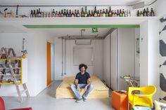 Open house para os criativos. Veja: http://www.casadevalentina.com.br/blog/detalhes/open-house-para-os-criativos-3076 #decor #decoracao #interior #design #casa #home #house #idea #ideia #detalhes #details #openhouse #style #estilo #casadevalentina #bedroom #quarto