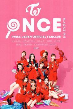 TWICE ONCE Japan Official Fanclub Magazine Vol.2