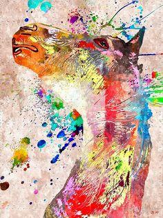 Horse by Daniel Janda