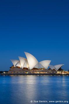 australia stock photography | Sydney Opera House at Night, Sydney, NSW, Australia