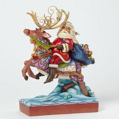 Santa Riding Reindeer - 4041094