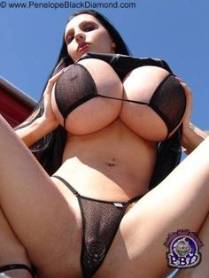 Penelope black diamond bikini