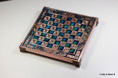 Copper Chess Board (20X20)