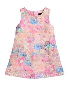 Imoga Kylie Floral-Lace Sleeveless Dress, Pastel, Size 4-6, Girl's, Size: 6
