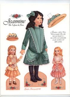 Jasmaine* Christmas paper dolls The International Paper Doll Society Arielle Gabriel artist #QuanYin5 Twitter, Linked In QuanYin5 *