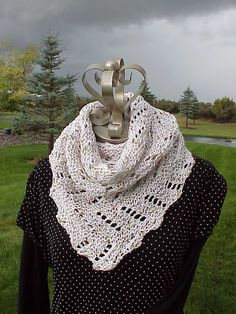 Definitely Diagonal Scarf By Kris Basta - Free Knitted Pattern - (ravelry)
