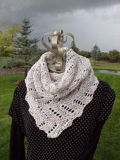 Definitely Diagonal Scarf By Kris Basta - Free Knitted Pattern - (ravelry)