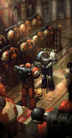 Deathwatch Space Marine of the Ultra Marines Chapter, receives an honor from the Exorcists Chapter for his service to the Inquisition Warhammer 40000, Warhammer Deathwatch, Warhammer 40k Memes, Warhammer Art, Warhammer 40k Miniatures, Warhammer Fantasy, Space Marine, Grey Knights, Sr1