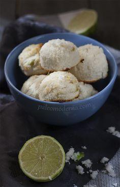 macarons paleo de coco