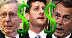 191 sellouts mcconnell ryan boehner 940 -- Boehner Got $5 million, Ryan $2 Million, McConnell $9 Million - Any Doubt Why TPA Passed?   ConstitutionRising.com http://rickwells.us/boehner-got-5-million-ryan-2-million-mcconnell-9-million-any-doubt-why-tpa-passed/
