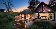 Activities at Lion Sand Ivory Lodge include day and evening game drives and bush walks in an area renowned for its extraordinary game: here you can expect to see the Big 5 of rhino, leopard, lion, buffalo and elephant, plus an abundance of plains game and some surprising nocturnal creatures. #SouthAfrica
