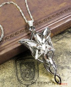 On Sale Arwen Evenstar Necklace LOTR Lord of the Rings