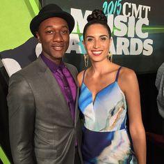 Maya Jupiter + Aloe Blacc looked ah-mazing at the CMT Music Awards.
