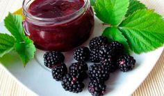 Blackberry jam Recipe Cooking Hogarmania Learn how to prepare homemade Homemade Blackberry Jam, Blackberry Jam Recipes, Healthy Eating Tips, Healthy Nutrition, Flan Recipe, Vegetable Drinks, Fruits And Vegetables, Easy Meals, Cooking Recipes
