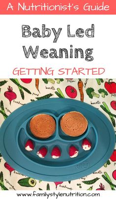 Thinking about trying Baby Led Weaning with your baby? Start here! this post from a nutritionist and mother of two BLW-fed kids is sharing all the basics on how to get started starter food recommendations and more. Baby Food Recipes, Whole Food Recipes, Starter Food, Baby Led Weaning, Homemade Baby, Breastfeeding Tips, Kids Nutrition, Meal Planning, Family Planning