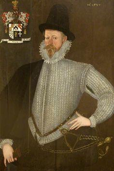 1597,  John Dutton of Dutton (d.1608/1609) (?).  British (English) School.  National Trust, Lodge Park and Sherborne Estate.
