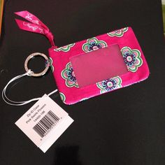 BRAND NEW Vera Bradley ID Holder This is brand new, never used- I received it as a going away gift but I won't use it!! In mint condition! Vera Bradley Bags