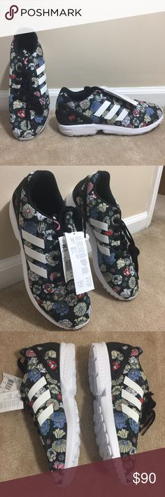 Women's Adidas Adidas ZX FLUX Torshion Sneaker Open to reasonable offers.  This futuristic running style sports breathable satin uppers with vibrant prints. adidas Shoes Sneakers