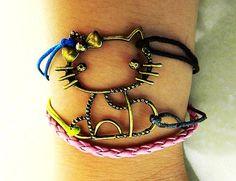 Harry Potter Deathly Hallow Bracelet, Harry Potter Snitch Bracelet, Owl Wing Bracelet,Gold Bead Brac on Luulla - LoveItSoMuch.com