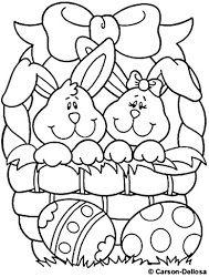 Coelhos da Páscoa Com Ovos