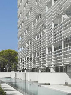 The Beach Houses, Jesolo Lido Village, Italy by Richard Meier & Partners Architects