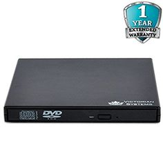 External DVD Drive USB 2.0 Slim portable CD RW DVD-ROM DVD Drive CD Burner Writer Rewriter copier For All Windows Notebook Laptop Desktop PC Netbook MAC - Victorian Systems®