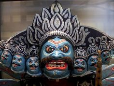 Ravana India, mask