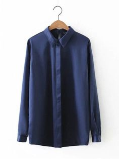 Bella philosophy Spring and summer new fashion full sleeve Solid color satin blous shirt balck white blue S-L