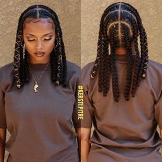 Braided Hairstyles For Black Women, Natural Hair Styles For Black Women, African Braids Hairstyles, Girl Hairstyles, Protective Hairstyles, Protective Styles, Hairstyles With Braiding Hair, Flat Twist Hairstyles, Girls Natural Hairstyles