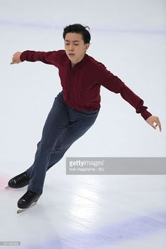 News Photo : Vincent Zhou of United States competes in the...
