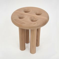 Hollow Leg Stool by Christopher Kurtz