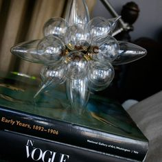 Glass Sculpture | 20 Brilliant Ways to Repurpose Lightbulbs